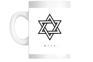 Bold Rosh Hashanah Star Coffee Mug
