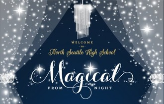 Magical Night Crystal Prom Banner