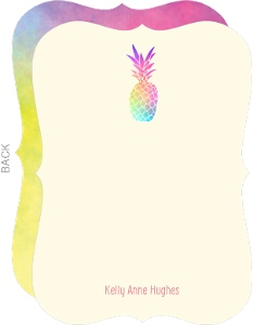 Tropical Pineapple Thank You Card