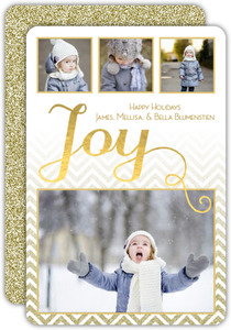 Joyous Holiday Multi Photo Card