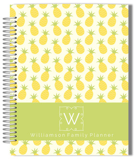 Pinneapple Monogram Mom Planner