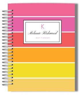 Tropical Simplicity Monogram Mom Planner