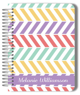 Colorful Pastel Pattern Mom Planner