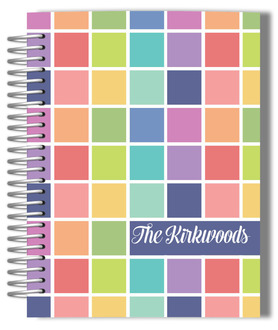 Color Swatch Family Mom Planner