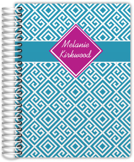 Greek Key Pattern Mom Planner