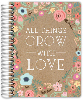All Things Grow With Love Mom Planner