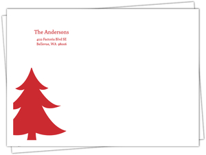 Rustic Peace Holiday Envelope