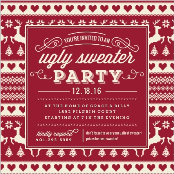 Holiday party invitation holiday party invite and get ideas to holiday party invitations stopboris Gallery