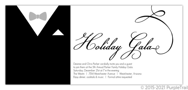 Holiday Party Invitations – Classic Party Invitations
