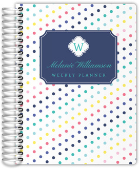 Simply Stunning Monogram Student Planner