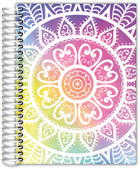 Colorful Mandala Student Planner