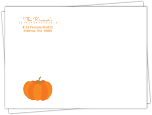 Our Little Pumpkin Halloween Envelope