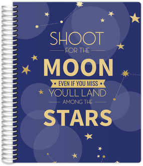 Bokeh And Stars Student Planner