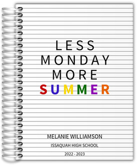 More Summer Student Planner