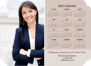 Realtor Photo Business Magnet Calendar