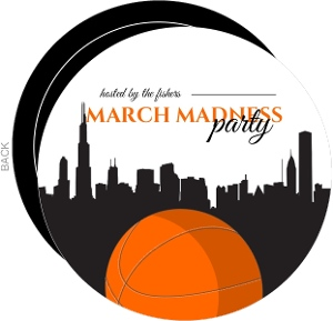 Basketball In The City Basketball Invitation