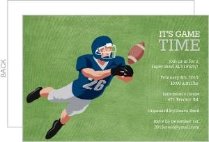 Game Day Football Invitation