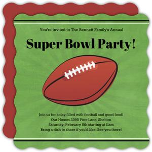 Sports Party Invitations