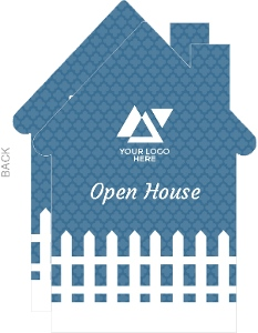 White Picket Fence Corporate Open House Invitation