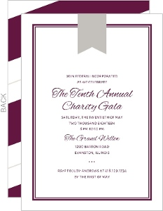 Classic Frame Business Party Invitation