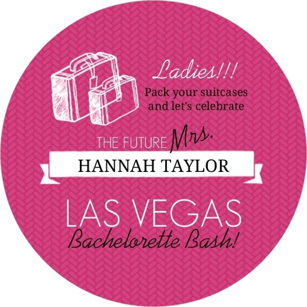 Pink and black destination bachelorette party invitation for Fun bachelorette party destinations