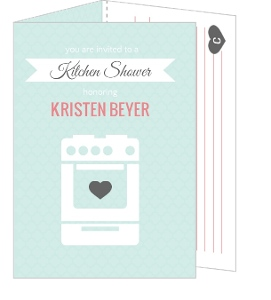 Kitchen Shower Bridal Shower Invite