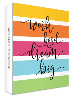 Work Hard Dream Big Student 3 Ring Binder