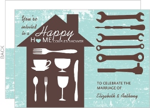 Tool Party Couples Shower Invite