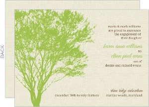 Green Tree Engagement Announcement