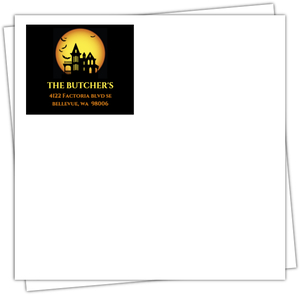 Nightmare On Our Street  Halloween Party Full Envelope