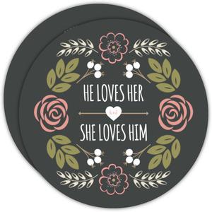 Floral Garden Monogram Wedding Invitation