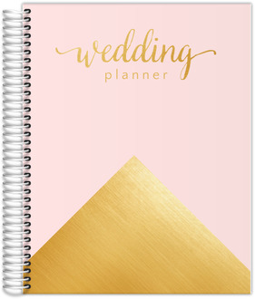 Faux  Gold Foil Gorgeous Wedding Planner