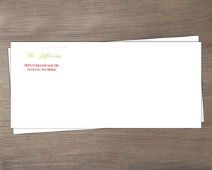 Holiday Cheer Martini Envelope