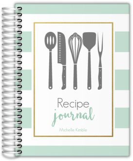 Mint Recipe Journal