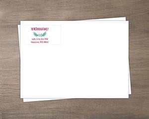 Be Merry Pine Wreath Envelope