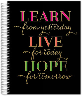 Learn Live Hope Mom Planner