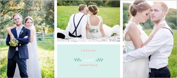 Mint Coral And Peach Country Floral Wedding Thank You Card – Wedding Thank You Card Designs