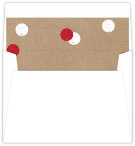 Kraft Holiday Polka Dot Liner