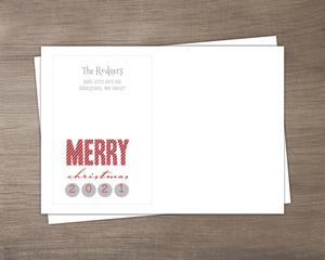 Sparkle and Shine Merry Christmas Envelope