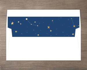 Festive Stars Envelope Liner