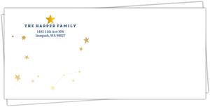 Festive Star Envelope