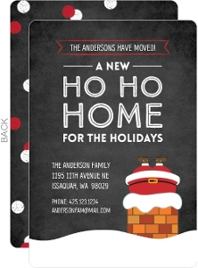 Ho Ho Home Moving Announcement