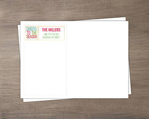 Colorful Cheers Faux Gold Envelope