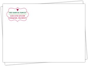 Classic Christmas Frame Envelope
