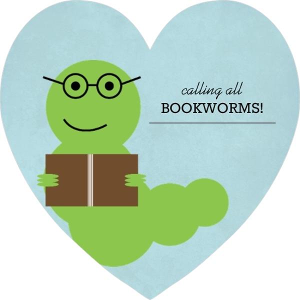Bookworm Book Club Invitation Book Club Invitations
