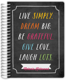 Live Simply Daily Planner
