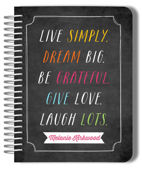 Live Simply Monthly Planner
