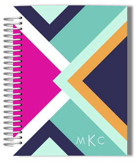 Modern Lines Monthly Planner