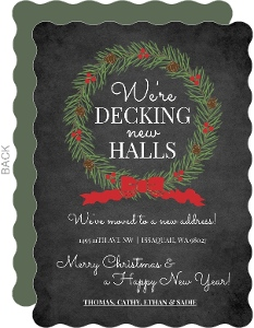 Decking New Halls Holiday Moving Announcements