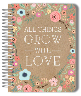 All Things Grow With Love Monthly Planner